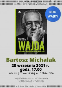 Spotkanie z Bartoszem Michalakiem w Bibliotece w Suwałkach