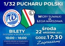 Bilety na mecz Wigry – Legia