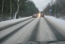 Drugi start zimy, trudne warunki na drogach