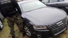 Audi skradzione we Włoszech, odzyskane w Budzisku