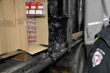 Kontrabanda o wartości 1,3 mln w ciężarówce z brykietem