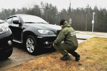 Gołdap. BMW z dwoma numerami VIN