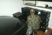 Kontrabanda za 200 tys. zł w wynajmowanym garażu [wideo]