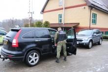 Zatrzymali dwie hondy skradzione w Holandii