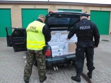 Kontrabanda i skradziony volkswagen