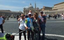 Piotr Kuryło dobiegł do Rzymu