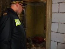 Strażnicy uratowali bezdomnego