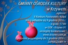 Konkurs kolęd i pastorałek w GOK Krzywe