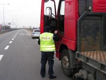 Estończyk kierował ciężarówką po alkoholu