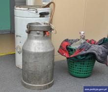 Gołdap. Wytwarzał alkohol w domku letniskowym