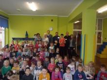 Augustowscy policjanci w przedszkolu