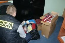 Kontrabanda za 26 tys. zł w mieszkaniu
