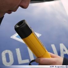 Pijany kierowca Audi zatrzymany w Augustowie