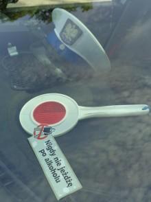 Obywatelskie zatrzymanie pijanego kierowcy w Suwałkach