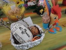 Wielkanocny stół malucha