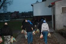 Biało-niebieski Mikołaj. Kibice Wigier przeprowadzą zbiórkę dla dzieci z Pawłówki