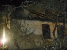 Pożar w Dębowie koło Sztabina