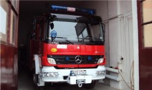 Wozy strażackie przy Młynarskiego. Na szczęście, fałszywy alarm