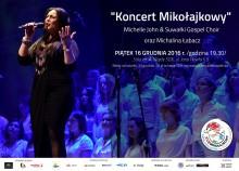 Michelle John & Suwałki Gospel Choir i Michalina Łabacz na Mikołajkowym Turnieju im. T. Godlewskiego