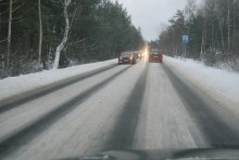 Uwaga kierowcy! Trudne warunki na drogach