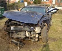 Tragiczny wypadek na trasie Wieliczki – Sobole. Nie żyje jedna osoba
