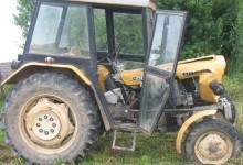 Zderzenie ciągnika rolniczego z oplem
