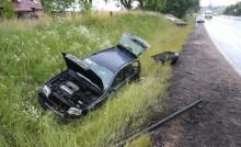 Trzy osoby ranne w wypadku w Gołdapi