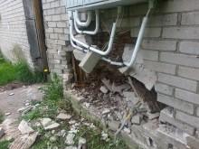 Pijany kierowca uderzył w dom