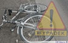 Potrącenie rowerzystki na ul. Reja w Suwałkach