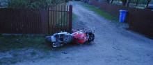 Motocyklista ranny w Augustowie