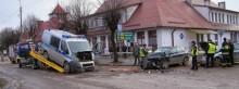 Radiowóz rozbił pijany kierowca [nowe zdjęcia]