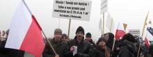 Policja chce ukarać organizatorów blokady