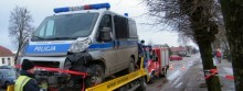 Wycenili radiowóz i przedłużyli areszt
