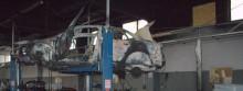 Podpalenie w Transdźwigu [zdjęcia]