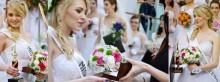 Najpiękniejsze studentki na ślubnych targach [fotorelacja]