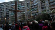 Droga krzyżowa przeszła ulicami Suwałk [zdjęcia]