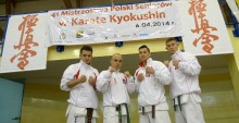 Karatecy w brązie