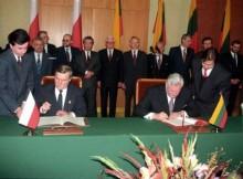 20. rocznica Traktatu między Polską a Litwą
