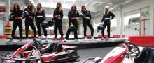 Miss z Mazur szalały na torze wyścigowym [zdjęcia i wideo]