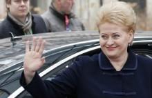 Litwa. Dotychczasowa prezydent wygrała I turę wyborów