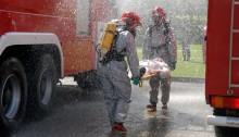 Nasi strażacy w katastrofie na Litwie [zdjęcia]