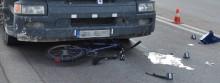 Rowerzystka potrącona przez ciężarówkę [zdjęcia]