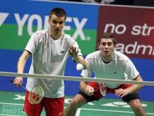 Badminton. Moreń i Szkudlarczyk grali w Paryżu