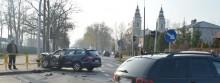 Wypadek na skrzyżowaniu Wojska Polskiego i Sportowej [zdjęcia]