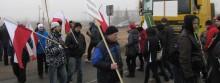 Wywłaszczeni rolnicy rozpoczęli serię blokad