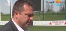Donatas Vencevicius pożegnał się z zawodnikami Wigier [wideo]