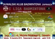 Rusza I liga badmintona