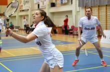Badminton.  Złoto miksta Bochat/Witek, srebro debla Taraszkiewicz/Witek