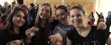 Jedząc kanapki pobili rekord Polski. Smacznie i zdrowo w ZS nr 2 [zdjęcia]