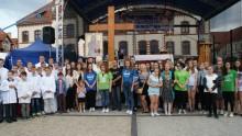 Symbole Światowych Dni Młodzieży w Suwałkach